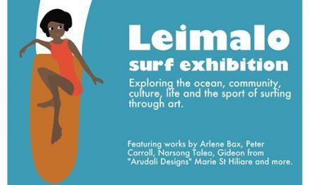 Leimalo Surf Exhibition at Fondation Suzanne Bastien – April 12 2017