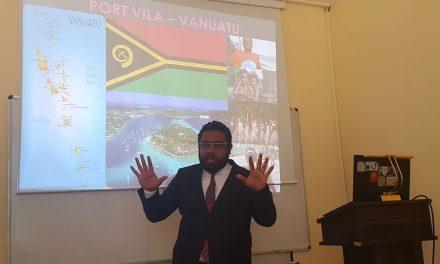 Turkey students hear about domestic violence in Vanuatu
