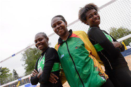 Vanuatu competing in FIVB U21 World Championship