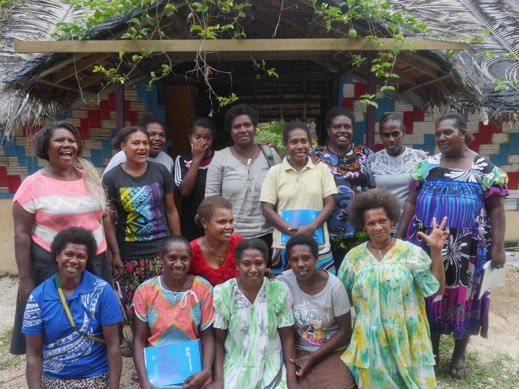 Vanuatai women's network 2017 AGM participants