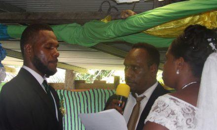 Pastor draws line between marriage and custom