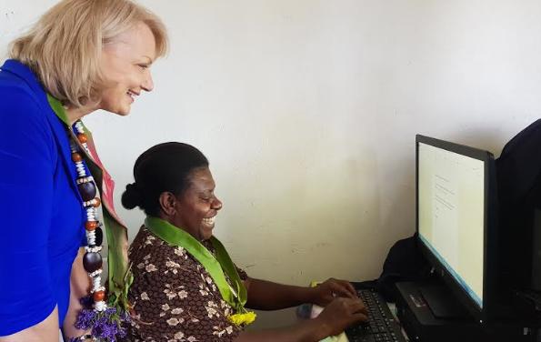 Ambassador congratulates Sisters Helping Sisters