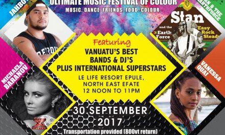 Colour Festival – Sat 30 Sept 2017