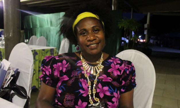 Joyce Napuat, Development Facilitator, World Vision attends 13th Triennial Conference of Pacific Women