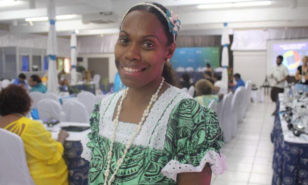 Sharyn Wobur, World Vision, attends 13th Triennial Pacific Women
