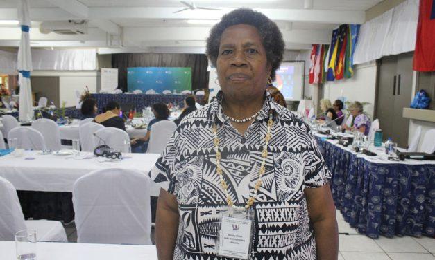 Merilyn Tahi, Vanuatu Women's Center, attends 13th Triennial Conference of Pacific Women