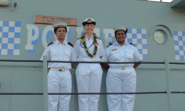Vanuatu Police Force welcomes a first new female Maritime surveillance Advisor