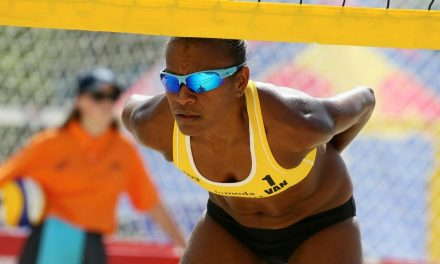 Vanuatu beach volleyballer Miller Pata to compete at Commonwealth Games just months after giving birth
