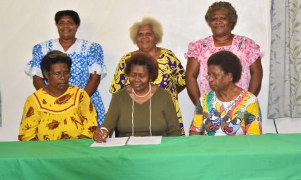 Leleon Vanua Party constitution signed