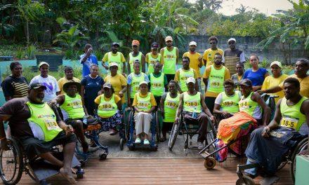 Team ABILITY participates in Wilco Island Relay