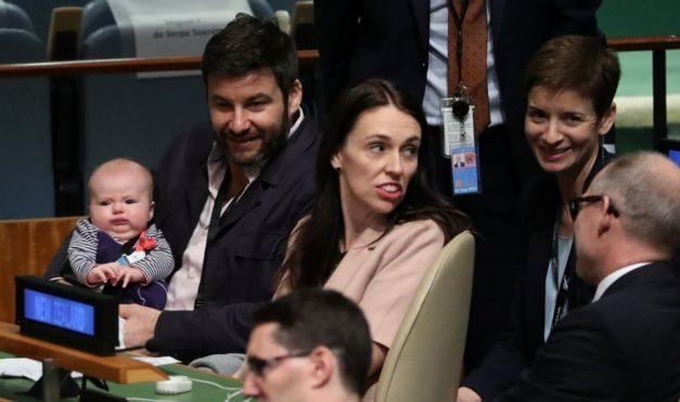 New Zealand PM Jacinda Ardern's baby premieres among world leaders
