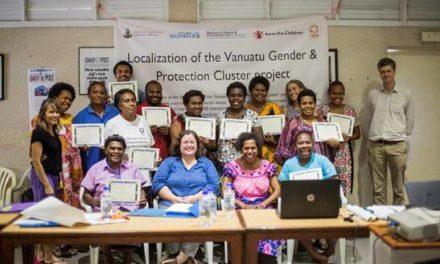 Vanuatu leading by example