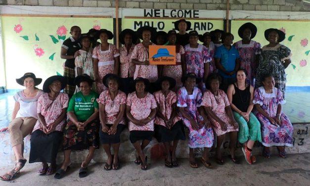 Empowering women through 'Farmer to Farmer' knowledge transfer