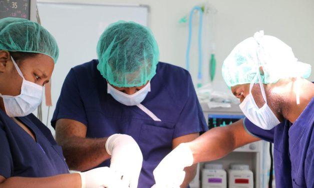 Groundbreaking reconstructive surgery