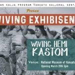 Wiving long Vanuatu exhibition at National Museum