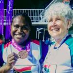 Elie Enock wins Bronze Medal at the Arafura Games