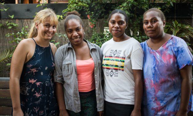 Paran Latan, production of the 1st album in Vanuatu with 100% female musicians