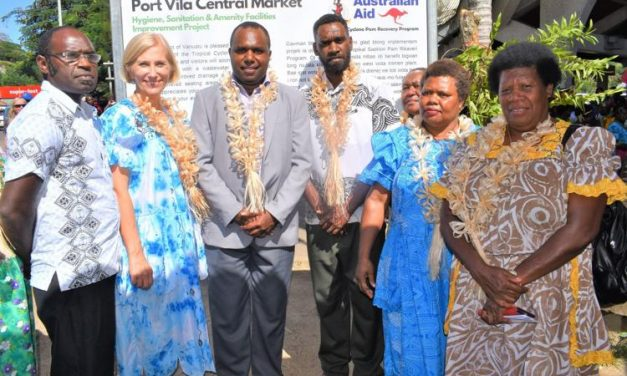 Project to improve sanitation at Port Vila market launched