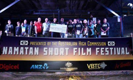 Vanuatu musical 'Taetem Strap' wins Namatan Short Film Festival