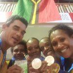 Women's Table Tennis Team Win Gold