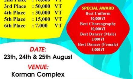 Port Vila Skits Competition Aug 23-25 2019