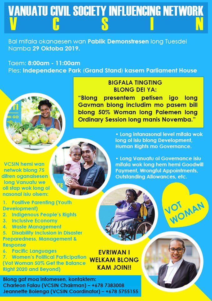 petition-reserved-seats-vanuatu