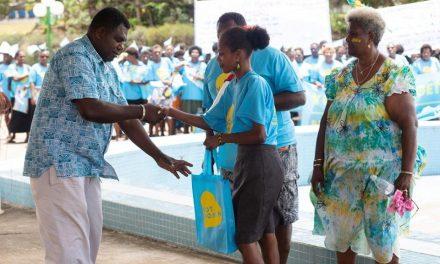 LOCAL COMMUNITY LEADERS MARCH FOR A BRIGHTER FUTURE FOR ALL NI-VANUATU CITIZENS