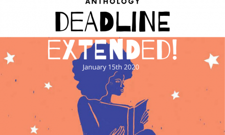 Deadline for Women Writers' Anthology extended until January 15th 2020