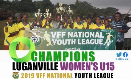Luganville dominates women's league