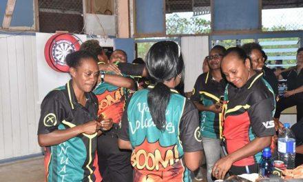 Vanuatu women's darts team creates history