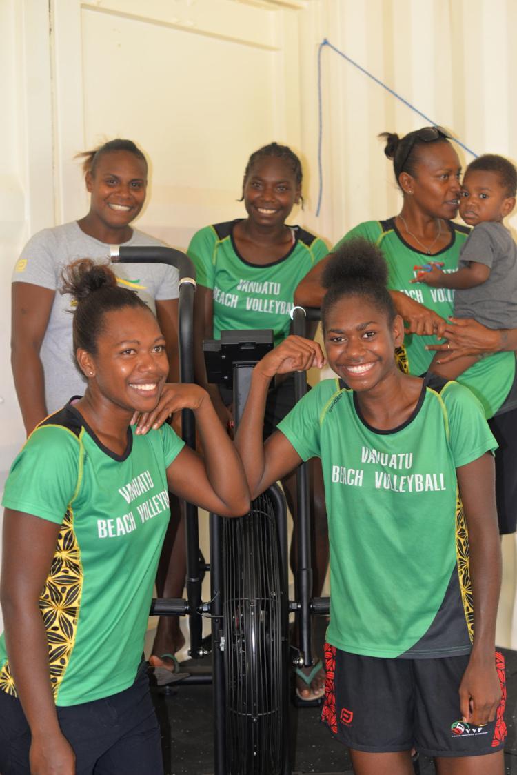 Shadow of coronavirus hanging over Vanuatu's beach volleyball Olympic bid