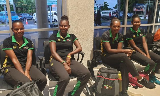 Vanuatu beach volleyball women's team starts Olympic qualifiers tour in Cambodia