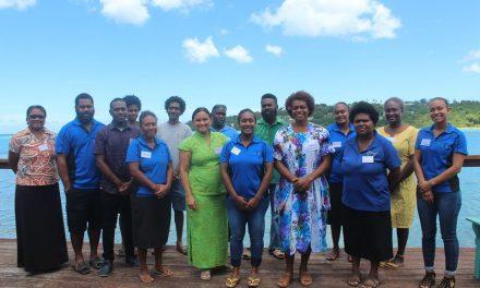 Vanuatu Fisheries Department hosts a Gender and Social inclusion workshop