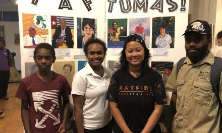Community artistic collaboration for 40th anniversary is Taf tumas!