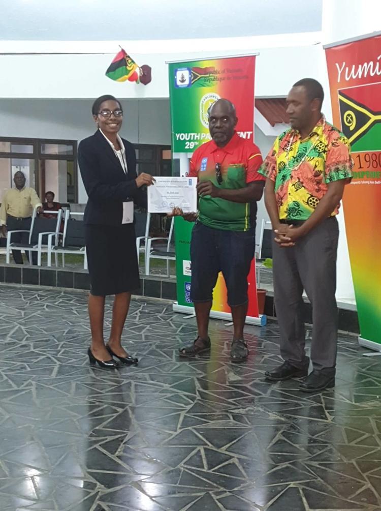 youth-parliament-vanuatu-2020