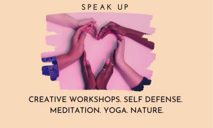Resilience Workshops. Build Confidence. Speak Up