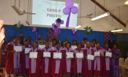 VT15M Midwifery Programme Produces 17 Graduates