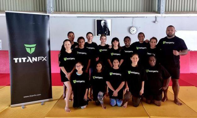 TITAN FX sponsors self-defence classes for females