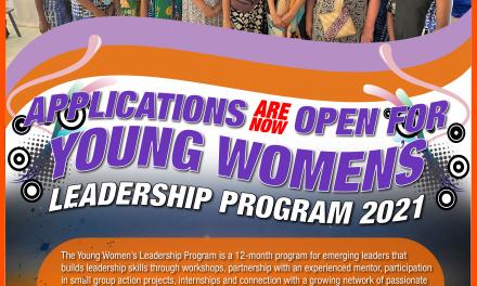 'Young Women's Leadership Program' Applications Open